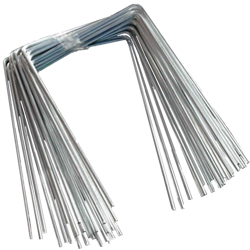 Metal Staple Peg Packs for weed landscape fabric. Strong steel